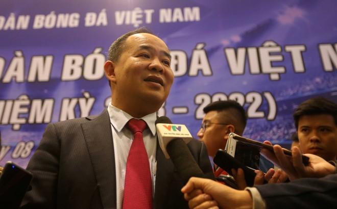 Tân Chủ tịch VFF Lê Khánh Hải