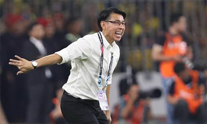 Bất lợi khi hòa 2-2 ở lượt đi, HLV Tan Cheng Hoe khẳng định ĐT Malaysia sẽ chơi tấn công trận lượt về.