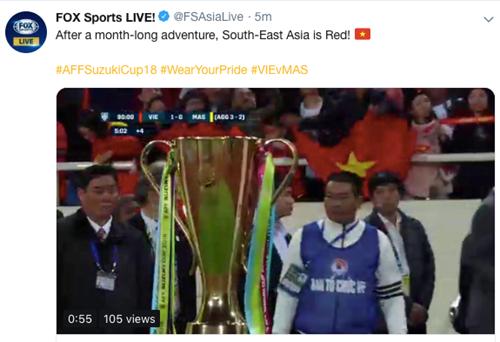 FOX Sports cho rằng ĐT Việt Nam xứng đáng trở thành số 1 Đông Nam Á