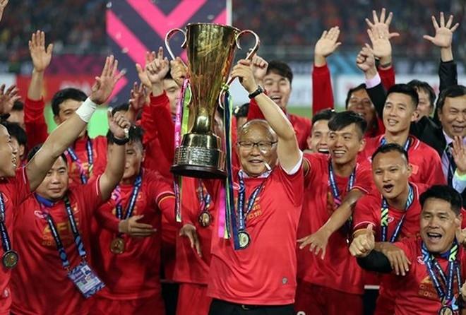 Thầy trò HLV Park Hang-seo vô địch AFF Cup thuyết phục