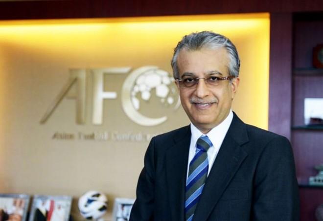 Chủ tịch AFC - ông Shaikh Salman bin Ebrahim Al Khalifa