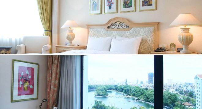 Khách sạn Daewoo có nội thất tiện nghi sang trọng và quang cảnh đẹp