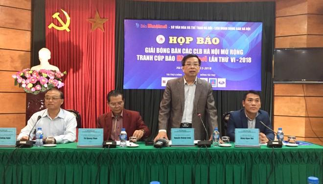 Ban tổ chức họp báo thông tin về sự kiện