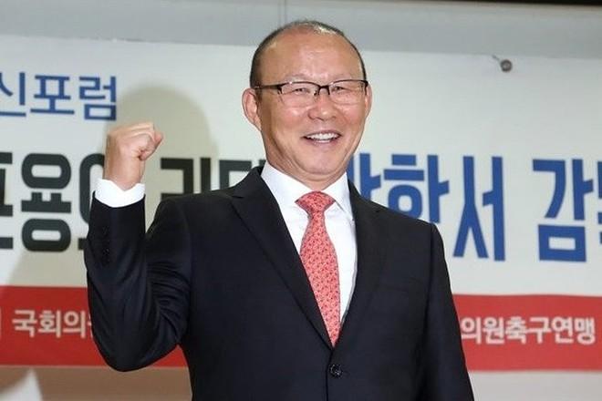 """HLV Park Hang-seo xin nghỉ phép về Hàn Quốc nhận danh hiệu """"Nhân vật của năm"""""""