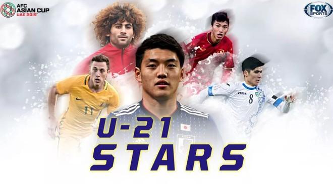 FOX Sports dự báo 5 ngôi sao U21 hứa hẹn tỏa sáng tại Asian Cup, có Đoàn Văn Hậu