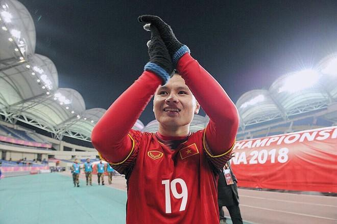 Ở tuổi 21, Quang Hải là cầu thủ thành công nhất lịch sử với HCB U23 châu Á, hạng tư ASIAD, HCV AFF Cup, Cầu thủ xuất sắc nhất AFF Cup, Quả bóng vàng Việt Nam...