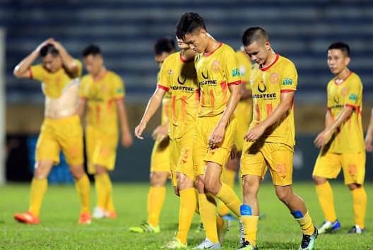 Số phận CLB Nam Định ở V-League 2019 vẫn chưa được đảm bảo