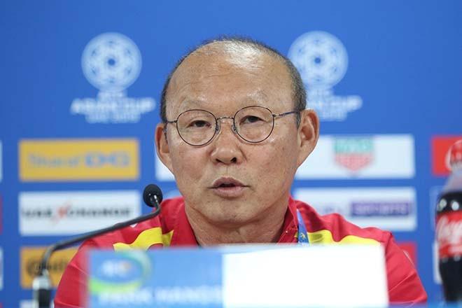 HLV Park Hang-seo muốn giành 1 điểm trước Iran để nắm cơ hội đi tiếp