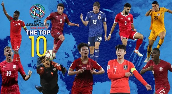 Quang Hải trong top 10 cầu thủ hay nhất lượt cuối vòng bảng Asian Cup