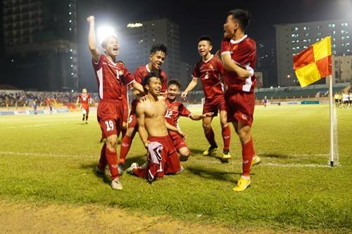Xuân Tạo ghi bàn quan trọng giúp U19 Việt Nam đánh bại Thái Lan, vô địch giải U19 quốc tế