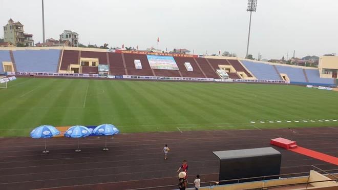 Sân vận động tỉnh Phú Thọ đủ điều kiện tổ chức trận U23 Việt Nam - U23 Myanmar