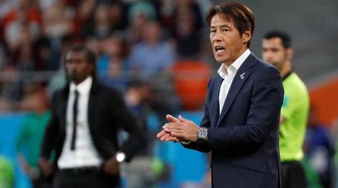 HLV Akira Nishino từng đưa ĐT Nhật Bản vào vòng 1/8 World Cup 2018