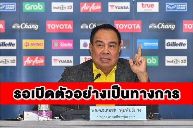 Chủ tịch FAT Somyot cho biết đã chọn HLV cho ĐT Thái Lan và đó sẽ là một bất ngờ