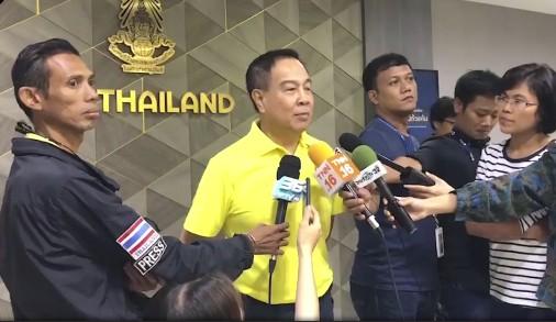 Chủ tịch FAT Somyot trả lời báo chí Thái Lan chiều 3-7