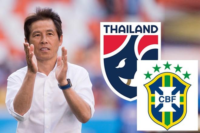 HLV Nishino được toàn quyền quyết định có nhận lời giao hữu với ĐT Brazil hay không