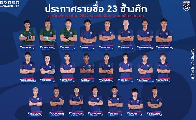 HLV Thái Lan gây sốc khi chốt danh sách đấu Việt Nam