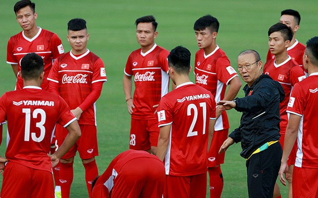 Thầy trò Park Hang-seo có thêm thời gian chuẩn bị cho trận gặp Malaysia và Indonesia