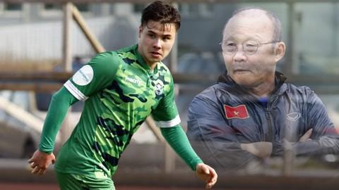 HLV Park bày tỏ băn khoăn về khả năng thích nghi của cầu thủ Việt kiều sau khi sang Na Uy theo dõi trường hợp của tiền đạo Alexander Đặng