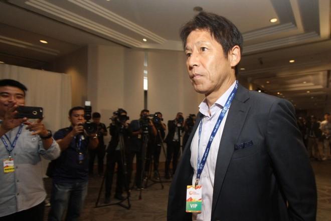 HLV Nishino tại lễ bốc thăm chia bảng VCK U23 châu Á 2020