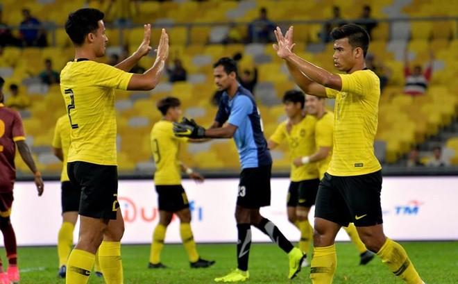 Chờ đấu ĐT Việt Nam, Malaysia 'vùi dập' Sri Lanka tới 6-0 ảnh 2
