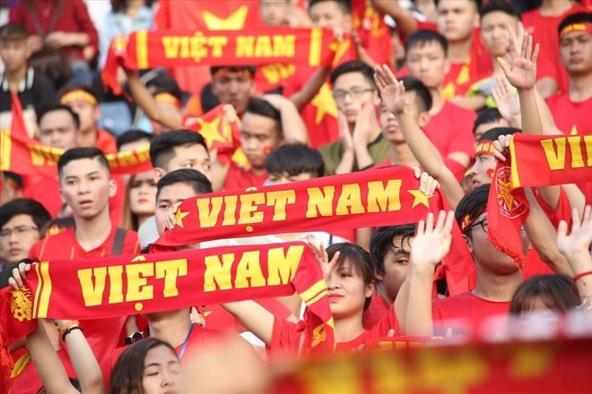 Người hâm mộ có cơ hội vào sân cổ vũ đội tuyển Việt Nam tại vòng loại World Cup 2022