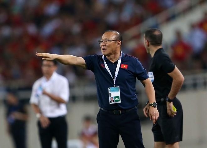 """HLV Park hài lòng dù """"chỉ thắng Malaysia 1-0"""""""
