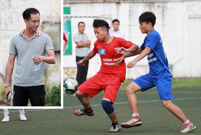 Cựu tuyển thủ Vũ Như Thành đánh giá cao chất lượng cầu thủ thi đấu tại giải bóng đá học sinh THPT Hà Nội do Báo An ninh Thủ đô tổ chức