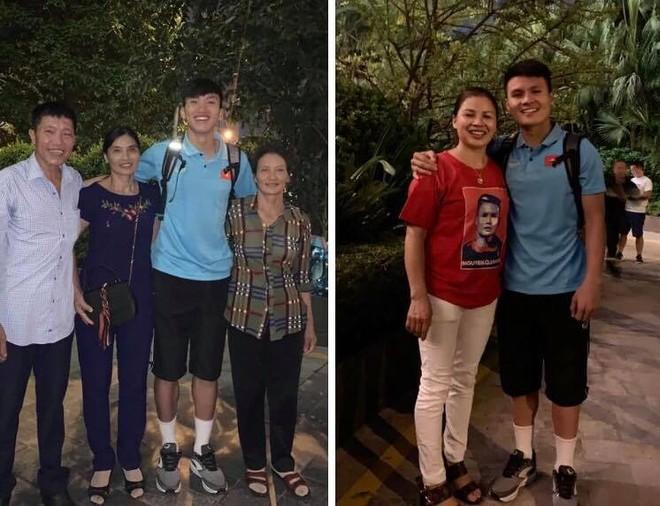 Văn Hậu, Quang Hải may mắn được gặp người thân trước khi sang Indonesia
