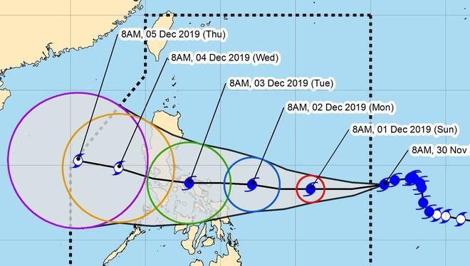 Chuyên cơ chở 127 thành viên Đoàn thể thao Việt Nam sẽ sang Philippines sớm một ngày để tránh bão