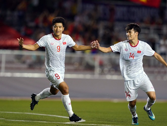 Bàn thắng quý giá của Đức Chinh giúp U22 Việt Nam có 3 điểm quý giá trước Singapore