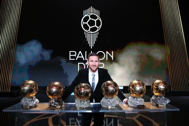 Messi trở thành cầu thủ đoạt Quả bóng vàng nhiều nhất lịch sử.