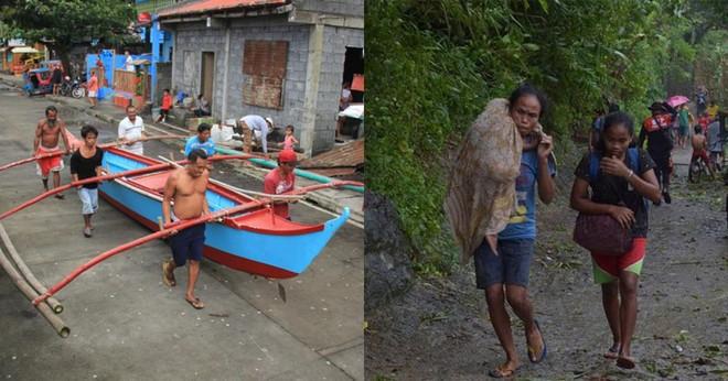 Người dân Philippines chạy bão Kammuri