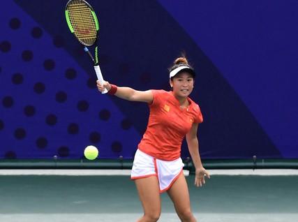 Tay vợt Savanna Lý Nguyễn vào chung kết đơn nữ, cầm chắc huy chương