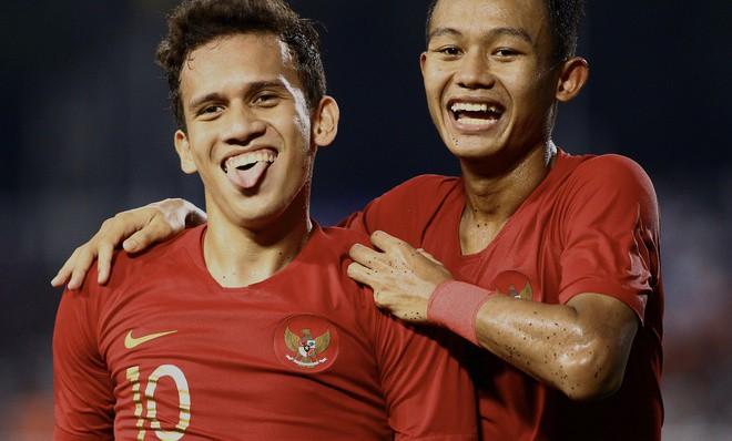 U22 Indonesia thắng nghẹt thở để vào chung kết
