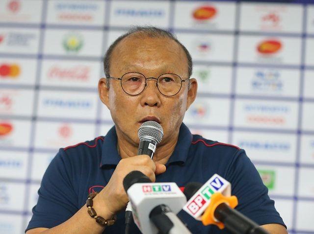 HLV Park Hang-seo hứa sẽ cố hết sức để cùng U22 Việt Nam vô địch SEA Games