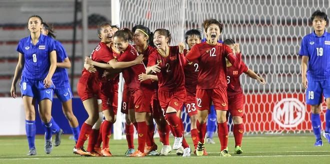 Đánh bại Thái Lan sau 120 phút, Việt Nam vô địch bóng đá nữ SEA Games 30