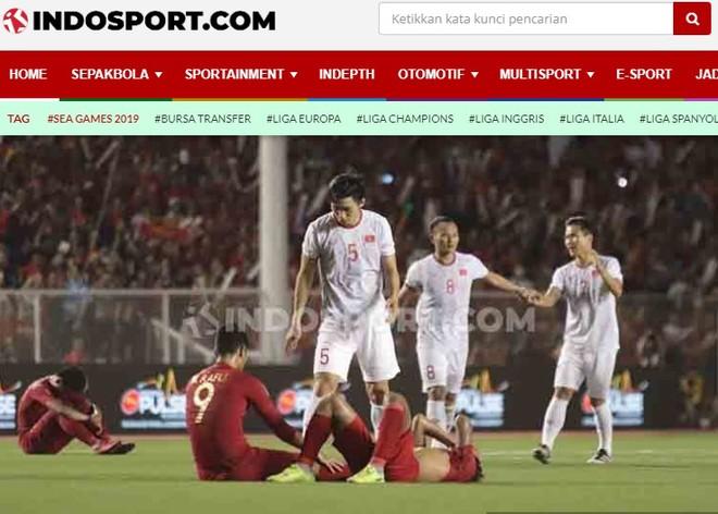 Các tờ báo Indonesia cho rằng đội nhà xứng đáng với tấm HCB
