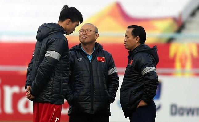 HLV Park Hang-seo dù muốn song nhiều khả năng sẽ không có sự phục vụ của Đoàn Văn Hậu tại VCK U23 châu Á tới