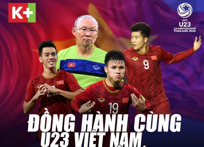 K+ khuyến mãi cho khách hàng nhân dịp VCK U23 châu Á 2020