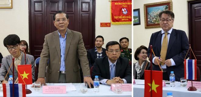 Chủ tịch Hội Nhà báo Hà Nội và Chiang Mai cùng hy vọng đôi bên tăng cường hợp tác