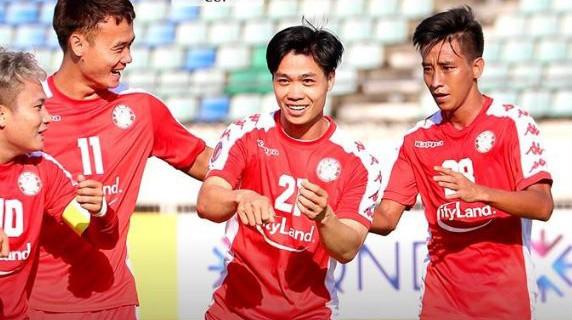 Công Phượng (21) ghi dấu ấn với bàn thắng giúp TP.HCM có 1 điểm ở trận ra quân AFC Cup 2020