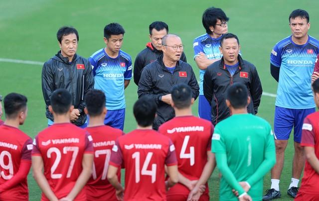 Thầy trò Park Hang-seo nhiều khả năng sẽ đá tập với các CLB ở V-League