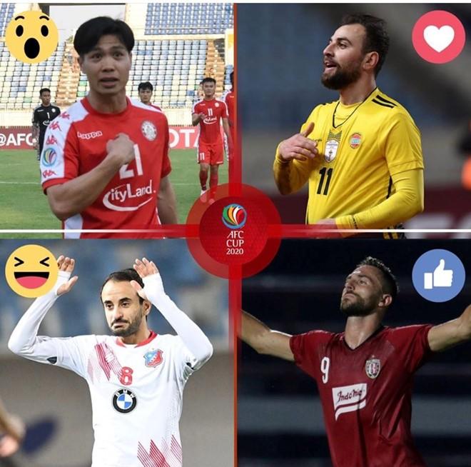 Công Phượng vào nhóm cầu thủ chơi nổi bật lượt trận đầu AFC Cup 2020