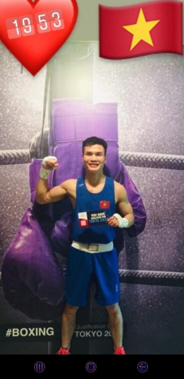 Nguyễn Văn Đương hạnh phúc với chiến thắng và tấm vé Olympic giành được