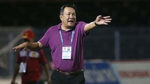 HLV Hoàng Văn Phúc từ chức chỉ sau 1 trận đấu của CLB Sài Gòn