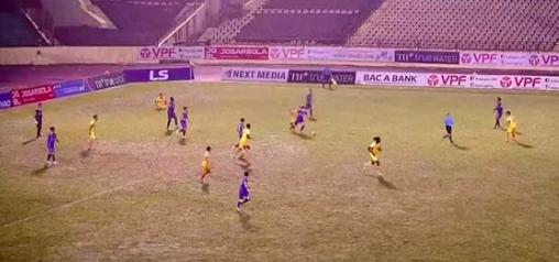 SLNA tiếp Bình Dương trên mặt sân Vinh xuống cấp, vòng 2 V-League 2020