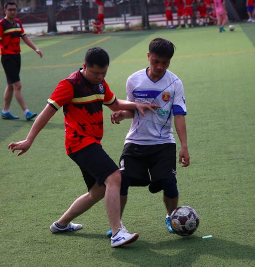 Khởi tranh giải bóng đá Cụm thi đua số 4 - CATP Hà Nội năm 2020