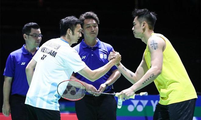 Tiến Minh và Lin Dan nhiều lần gặp nhau, cả ở trên sân đấu lẫn ngoài đời