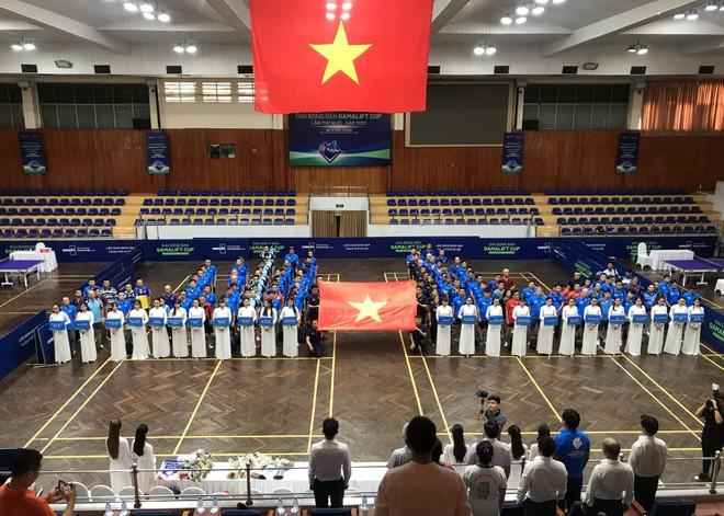 200 tay vợt sôi nổi tranh tài giải bóng bàn cúp GamaLift