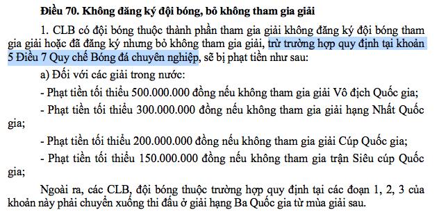 """Vì sao bầu Đệ tự tin """"thách"""" VFF, VPF dùng luật phạt CLB Thanh Hoá?"""